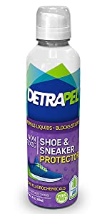 shoe, sneaker, fabric, protect, stains, liquid repllent, shark tank, camping, dry, water resistant