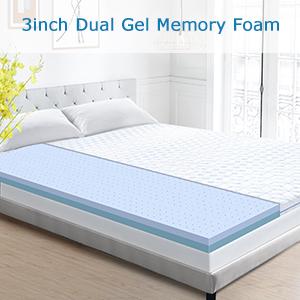 3 inch mattress topper