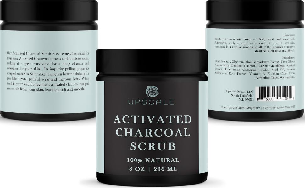 charcoal scrub charcoal face scrub black sugar scrub charcoal body scrub charcoal face