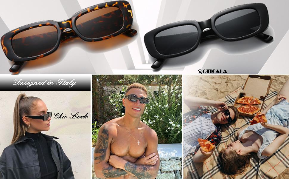 rectangle shades for women men