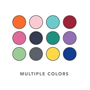 Simple Modern Colorful Lids
