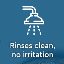 Puracy Natural Body Wash: Citrus & Sea Salt - Rinses clean, no irritation