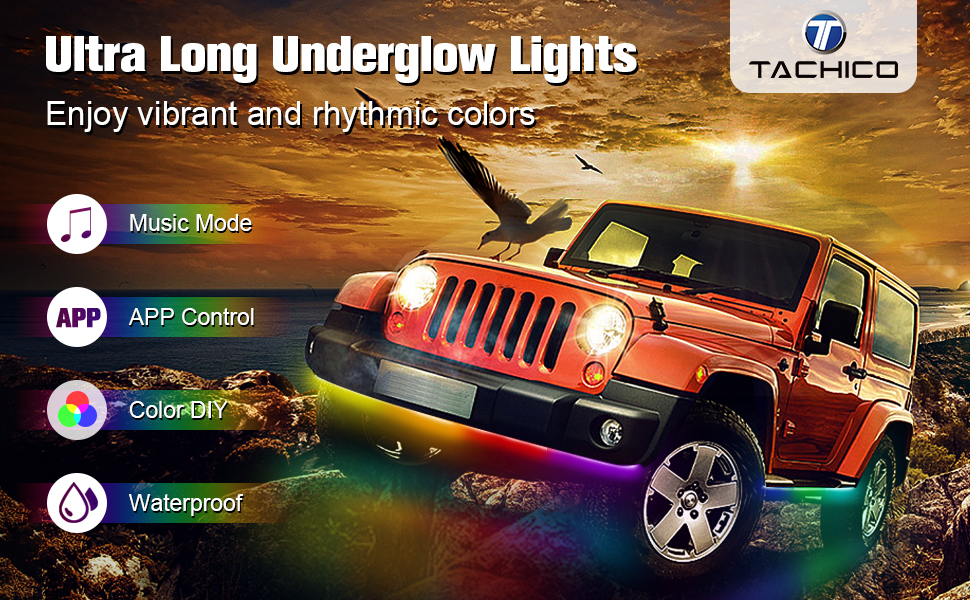 Car LED Underglow lights