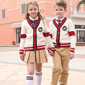 girls uniform skirts