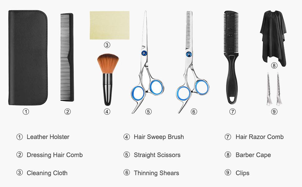 Hair Scissors Set