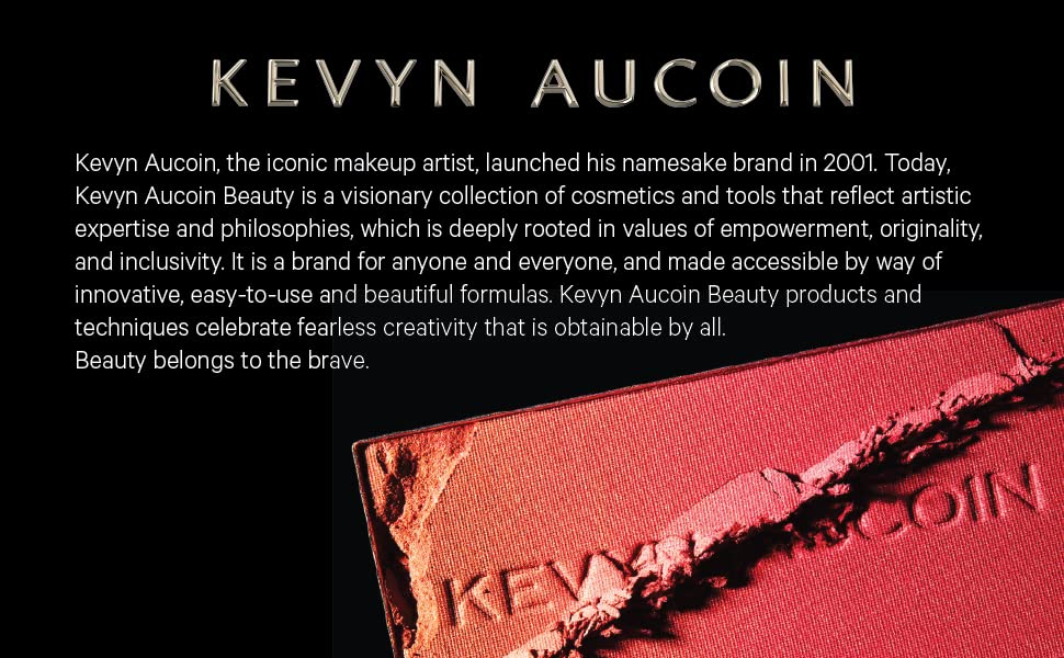 kevin makeup artist iconic brand beauty tools cosmetics skincare inclusive easy expertise