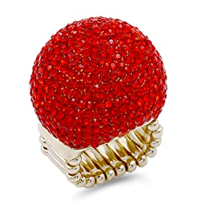 Gold Plated And Red Color