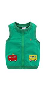 kid cartoon vest