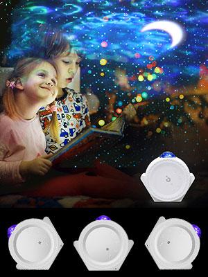Lampe Projektor Sterne
