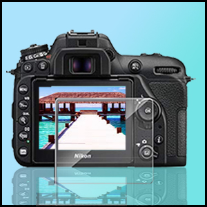 Tempered Glass Screen Protector for Nikon D7500