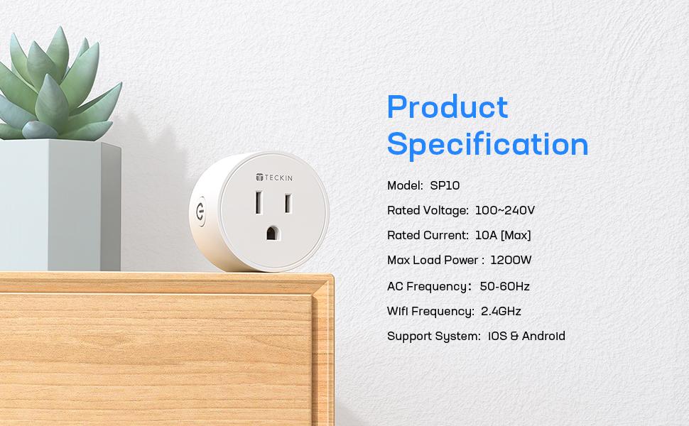 smart plug specification