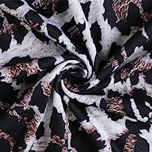 Leopard Print Design(Black)