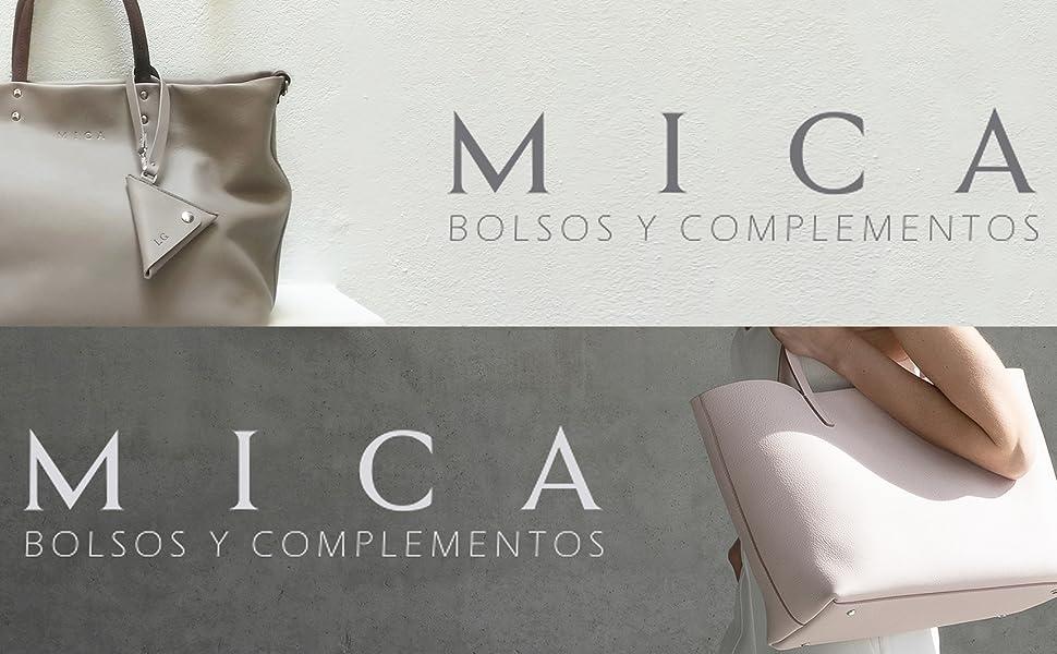 Bolso Tote Gouges para mujer Shopper fabricado en piel auténtica Bolso para colgar al hombro