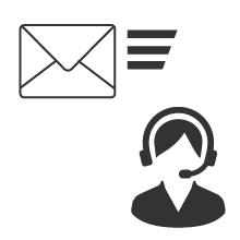 お電話でのお問い合わせ対応/お問い合わせには48時間以内に返信