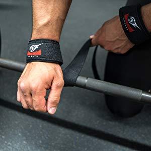 Combo Lifting Straps + Wrist Wraps Polsi Cinghie Fasce per Stacchi
