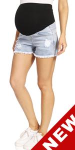  maternity denim shortsmaternity shorts denim maternity denim shorts for women maternity jean sh