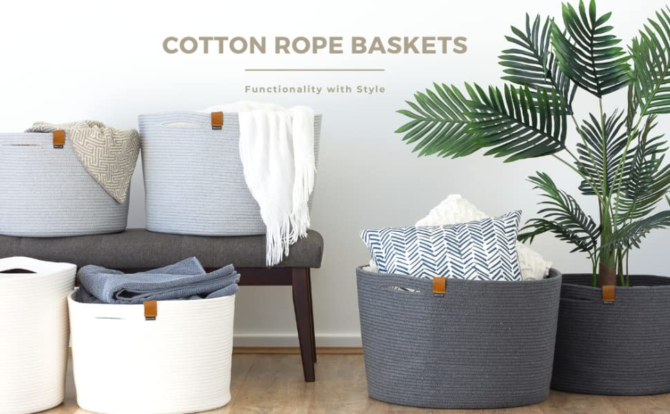 woven baskets for storage