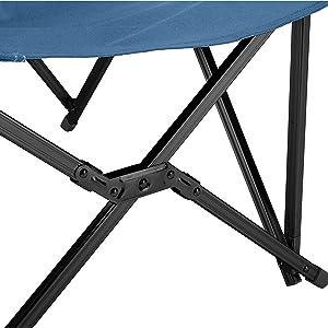 Grand Canyon EL Tovar Chaise de camping pliante avec accoudoirs Aluminium 100 kg