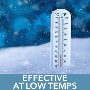 Effective at Low Temps