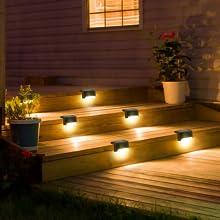 solar deck lights outdoor waterproof, solar deck lights, dock lights, solar step lights