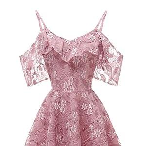 Lace wedding guest dress