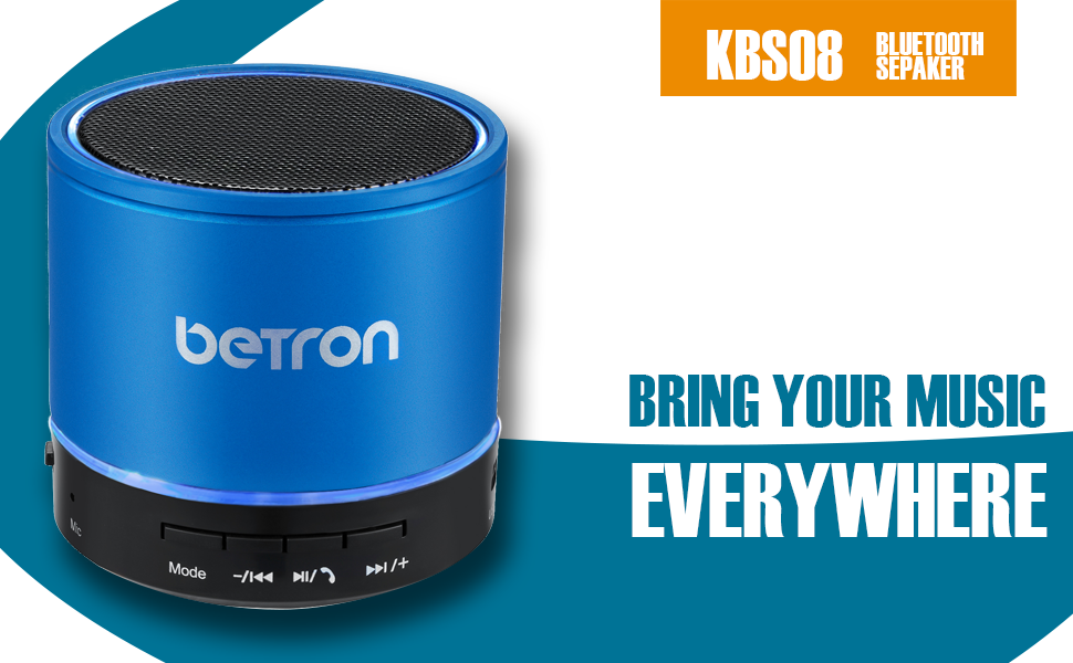 betron kbs08 blue buetoth wireless speaker