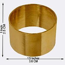 Napkin Rings Set of 12