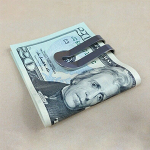 titanium money clip