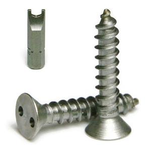 tamper proof sheet metal screws