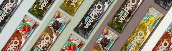 vegane Proteinriegel vegan Eiweissriegel - Protein Riegel vegan von ProFuel - veePRO