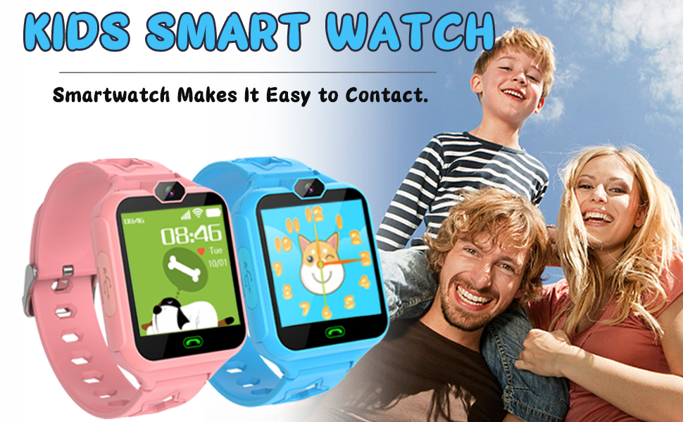 smart watch makes it easy to contact