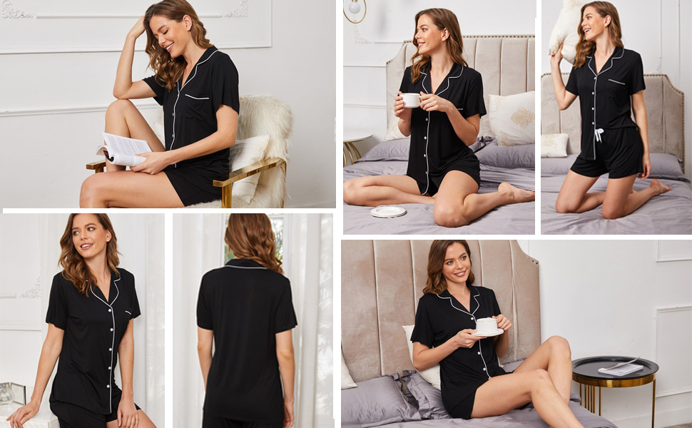 comfortable nightwear set for woman