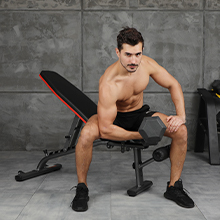 One-arm Dumbbell Bend Lift