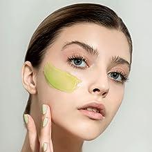 gel face mask, gel mask, fruit face mask, fruit mask, fruit facial