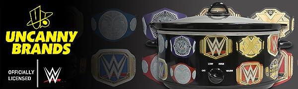 Uncanny Brands WWE Slow Cooker