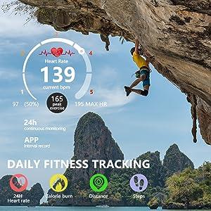 running tracker,running watch,gps watch,fitness watch,activity tracker,pedometer watch for women