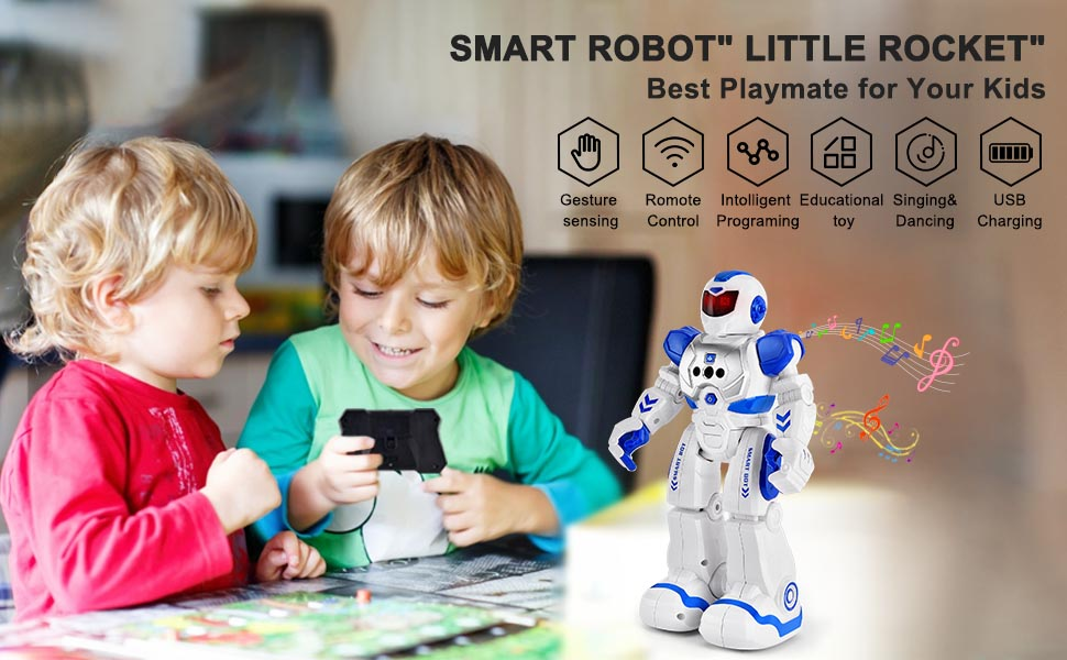 Smart robot just made for your kids !