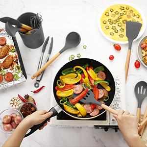 kitchen cooking utensils set kitchen utensils for cooking
