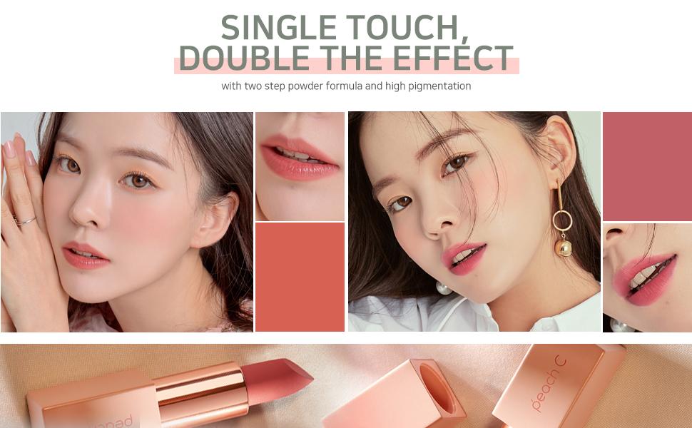 Peach C MLBB Lipstick main color