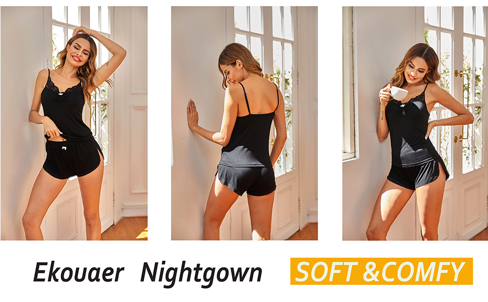 comy pajama set sexy sleepwear
