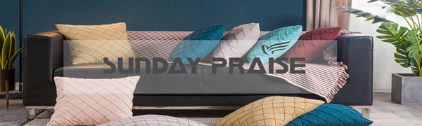 SUNDAY PRAISE PILLOW COVERS