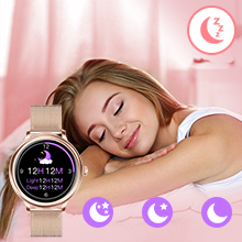 Auto Sleep Tracker Silent Vibration Alarm Clock