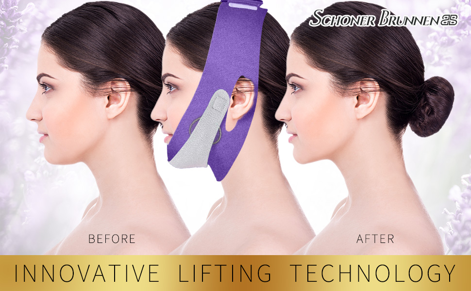 V Line Lifting Chin Band Eliminates Sagging Skin Lift Firming Anti Aging Wrinkle Breathable Contour