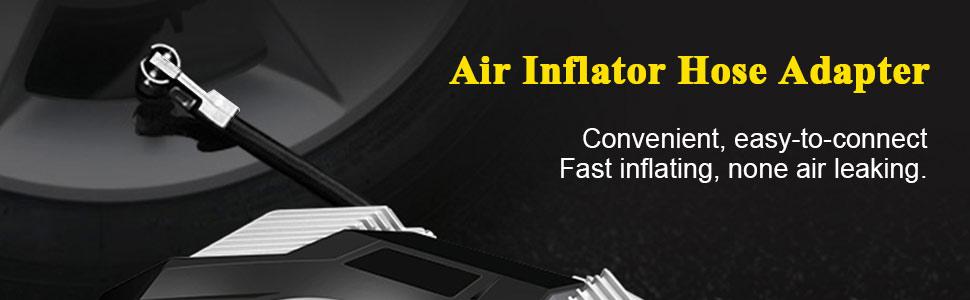 air inflator hose adapter