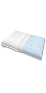 Bluewave Bedding Slim Pillow