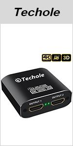 Splitter HDMI 1 In 2 Uscita