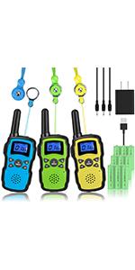 walkie talkies 3 pack