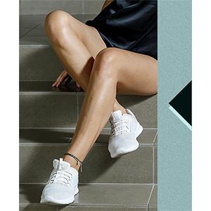 Boho string anklet for women