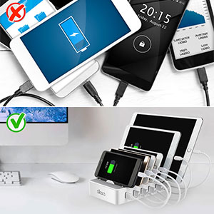 Fast Charging Station for Multiple Devices