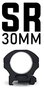 MONSTRUM TACTICAL SR 30MM PRECISION SCOPE RING